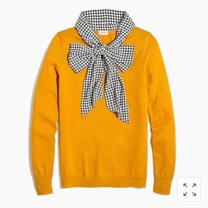 J. Crew Scarf Pullover Sweater XL